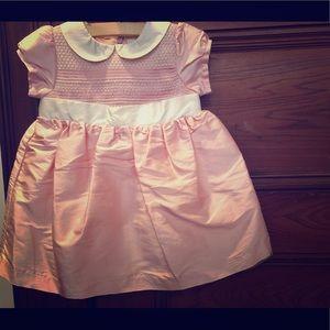 NWT Gymboree silk dress. 6-12 months.